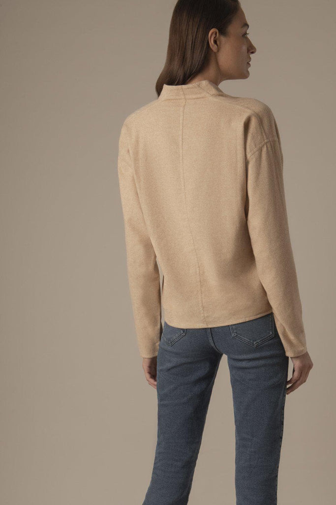 Catarina Ethical Organic Cotton Shirt in Cinnamon