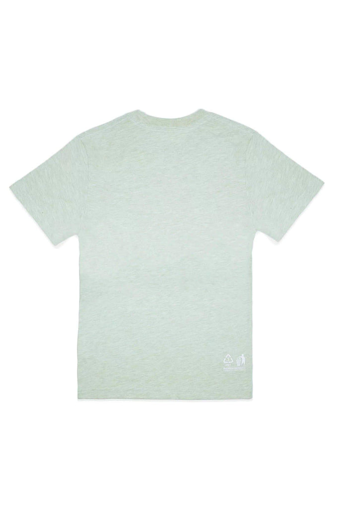Bottle Tee Ethical Recycled T-shirt in Neo Mint