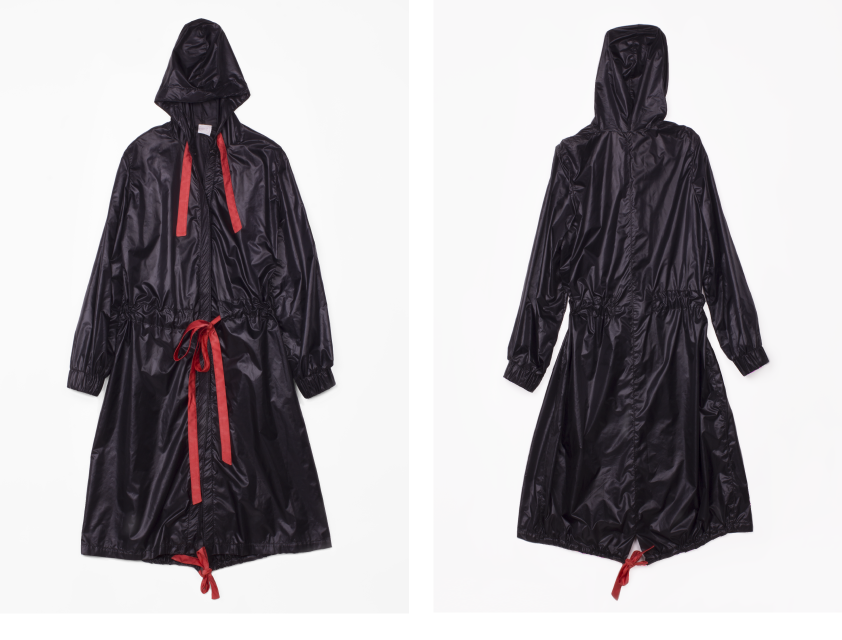 Al Nair Recycled Polyester Parka in Black
