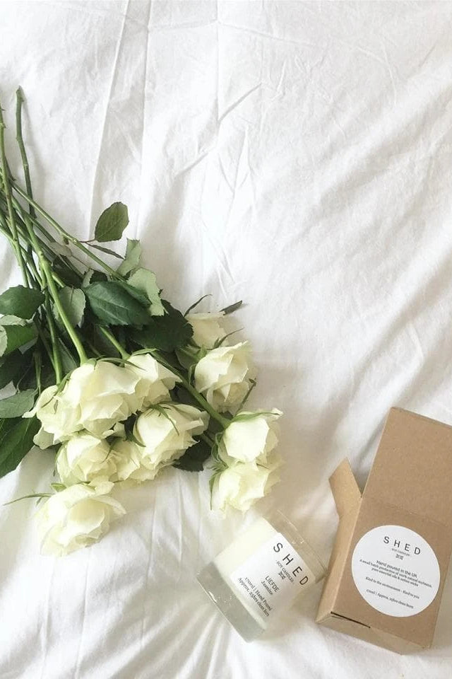 Liefde Vegan Soy Candle with Jasmine Essential Oil