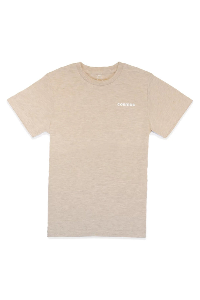 Bottle Tee Ethical Recycled T-shirt in Melon Mocha