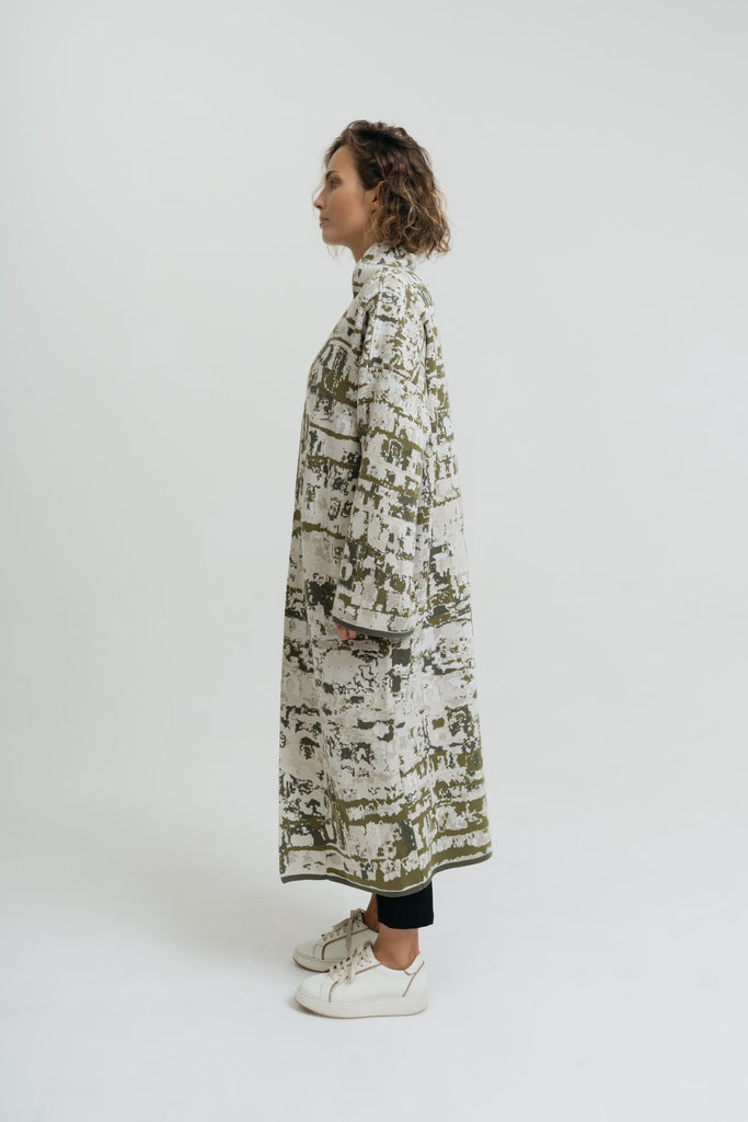 Sa Talaia Handmade Cotton Long Kaftan in Multiple Colors