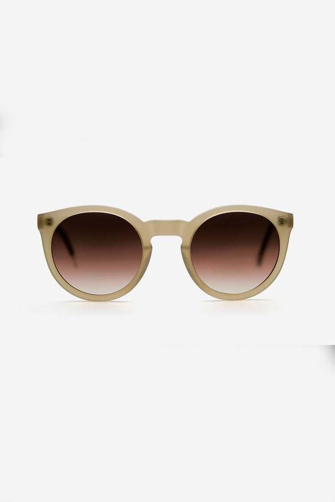 Asha Ethical & Eco-Friendly Acetate Sunglasses in Champagne