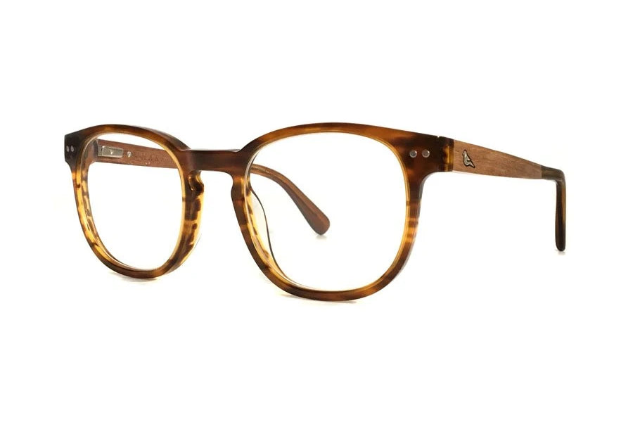 Athene Ethical & Eco-Friendly Acetate Sunglasses in Caramel