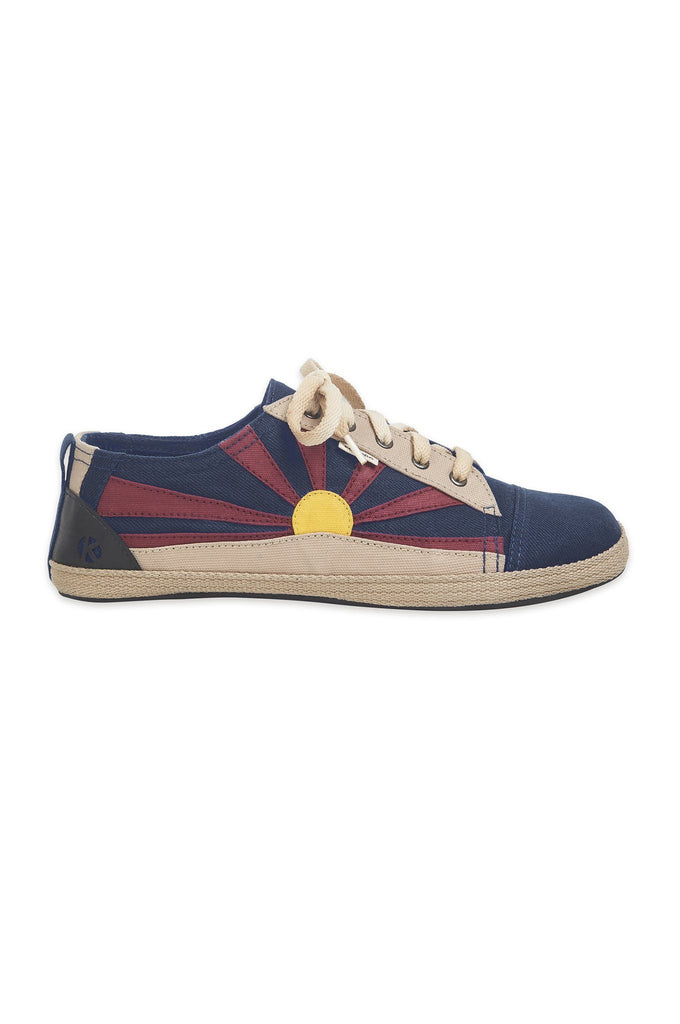 Tibet Vegan Womens Shoes in Navy