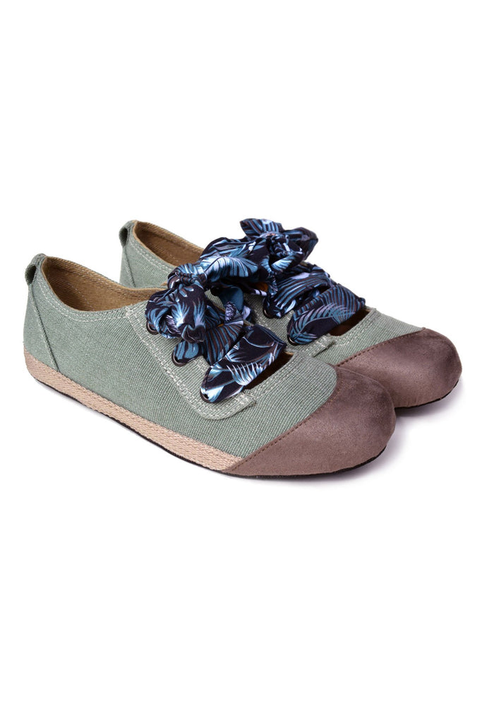 Bali Ballet Vegan Shoes in Green