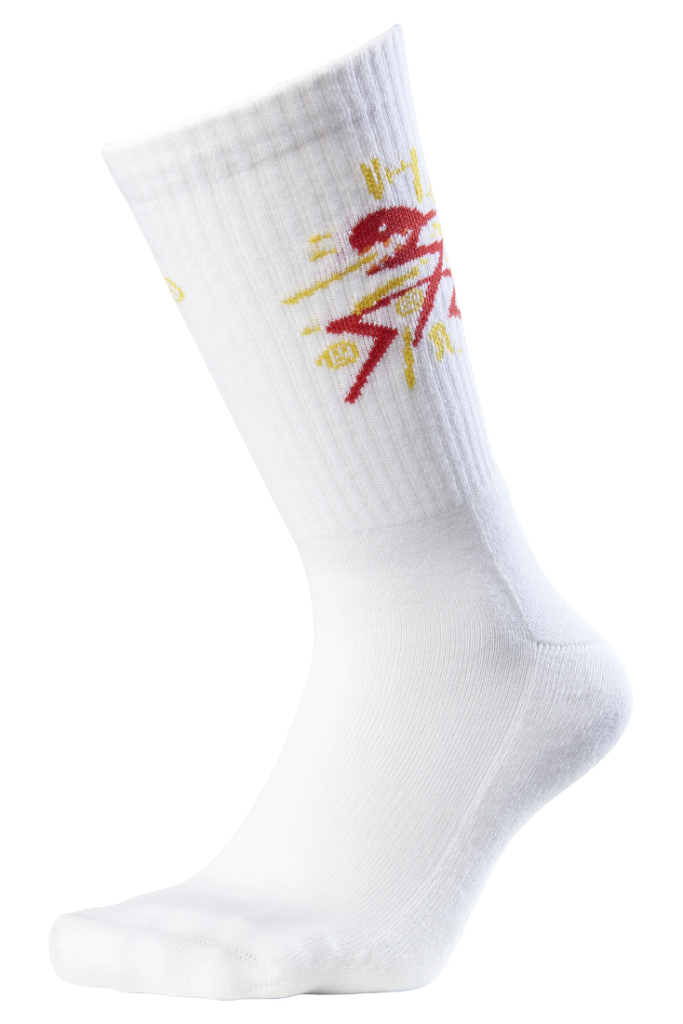 Baketown Organic Cotton Socks in White