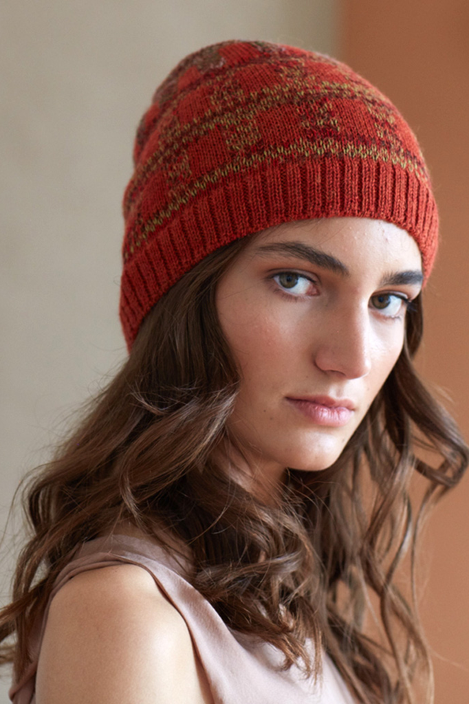 Napkini Handmade Alpaca Wool Beanie in Copper