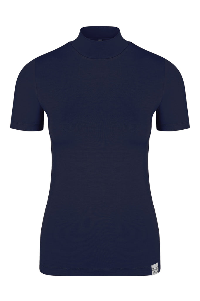 Jess Vegan Bamboo Top in Ink