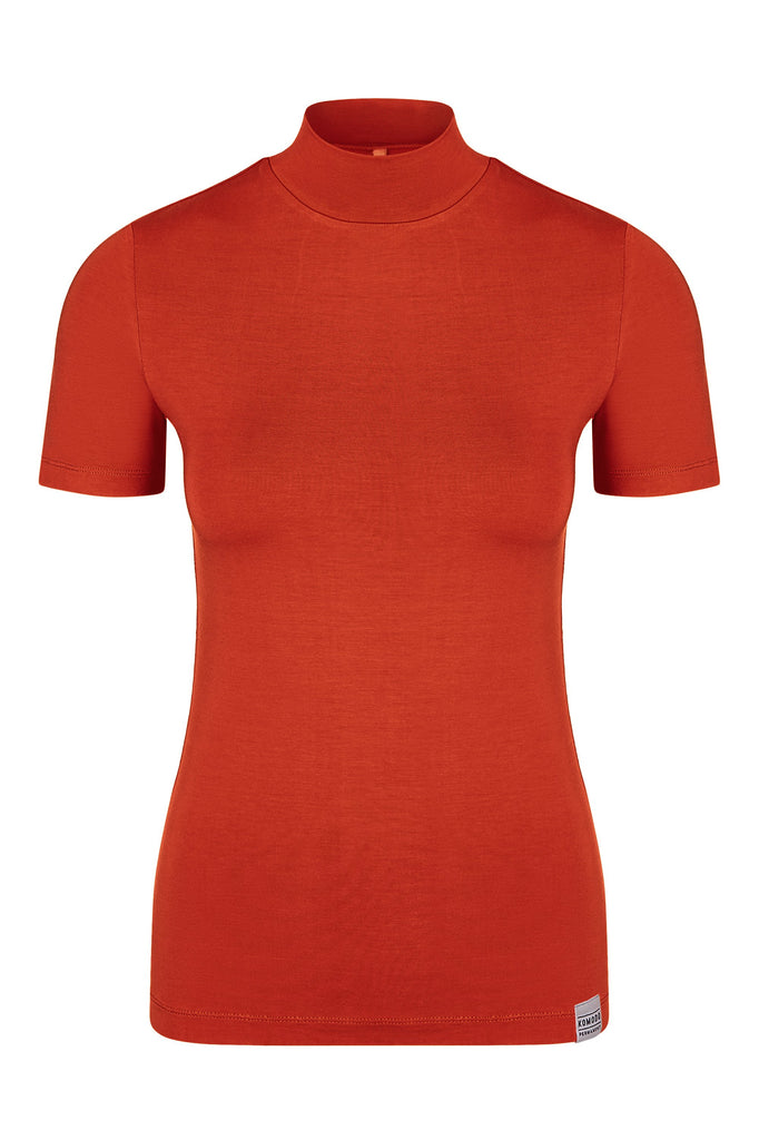 Jess Vegan Bamboo Top in Pepper