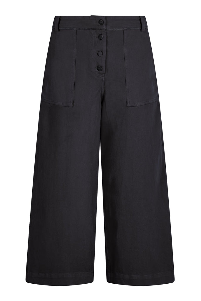 Holy Cow Organic Cotton Trousers in Coal