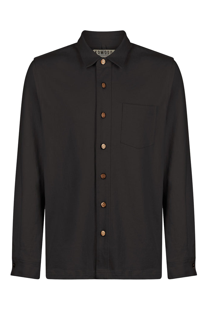 Jean Organic Cotton Shirt in Coal