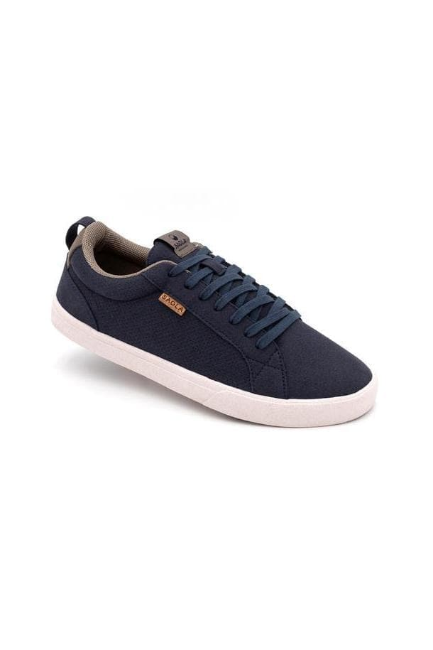 Men Cannon Recycled Sneakers in Blue Night