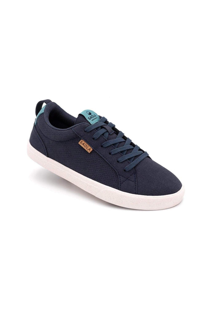 Women Cannon Recycled Sneakers in Blue Night