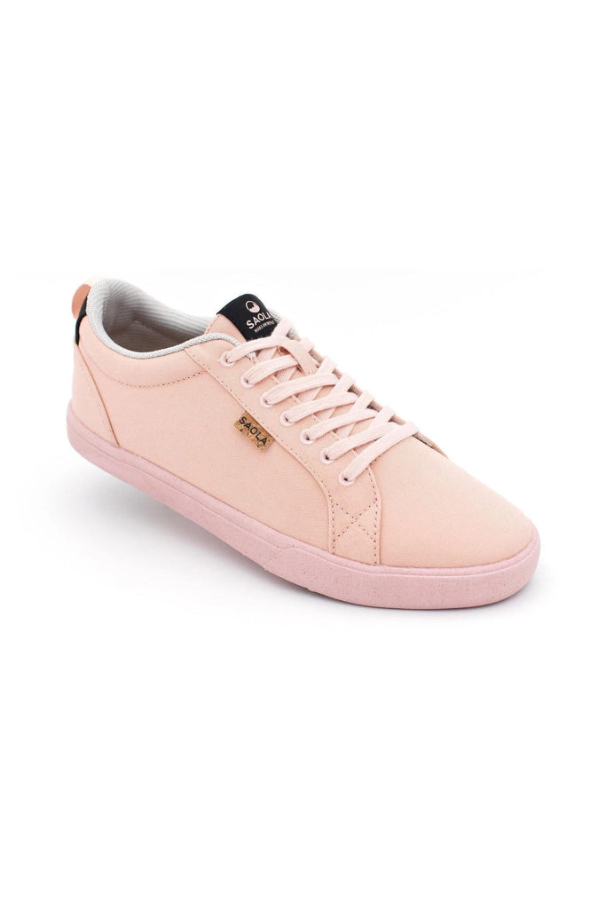Women Cannon Recycled Sneakers in Rose Gold