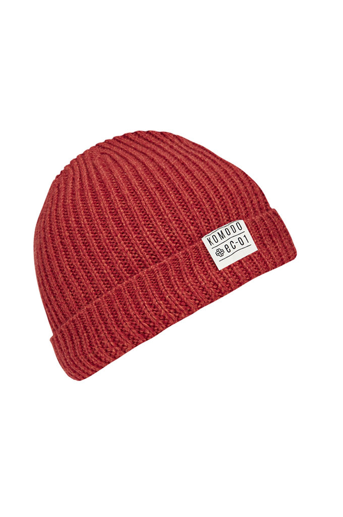 Christophe Biodegradable Merino Hat in Red