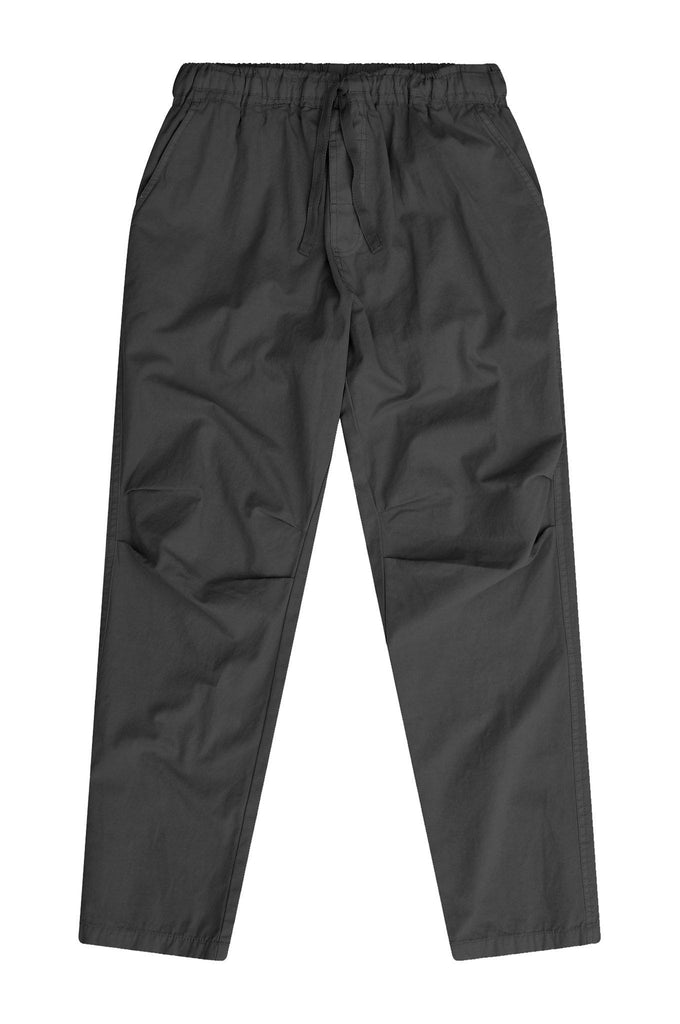 Danny Organic Cotton Unisex Trousers in Coal