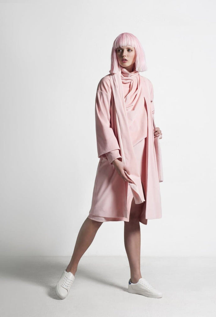Rasalas Organic Cotton Coat in Pink