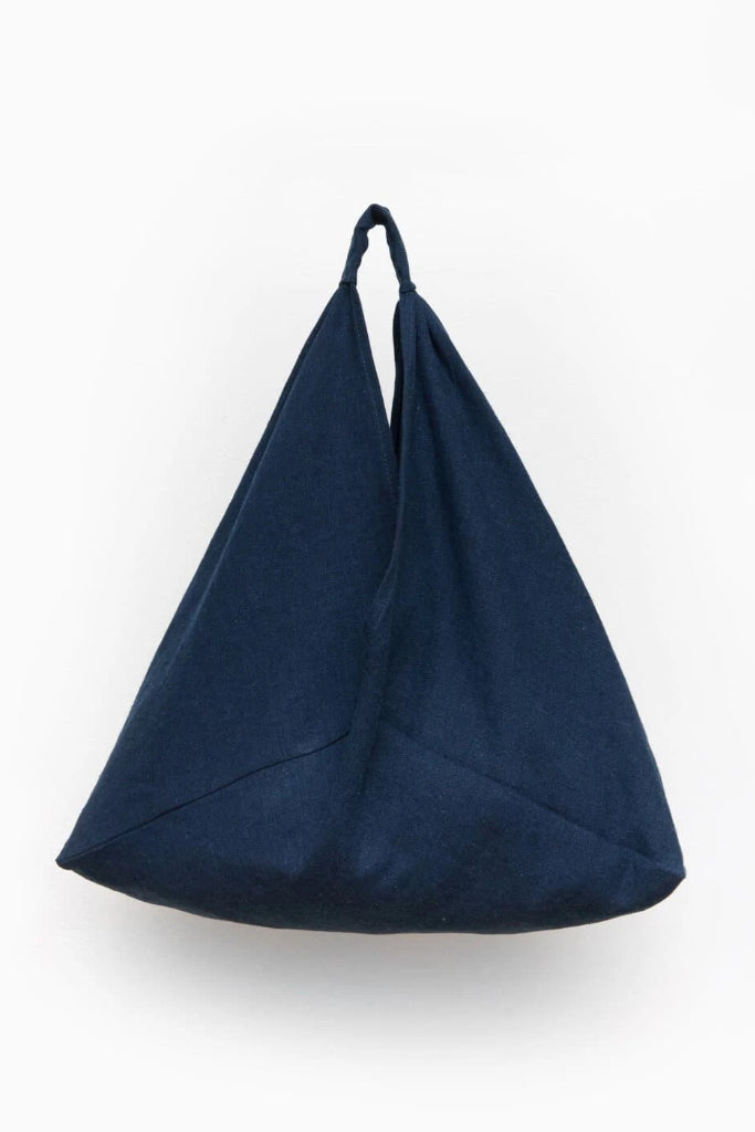 Azuma Organic Hemp & Cotton Bag in Indigo