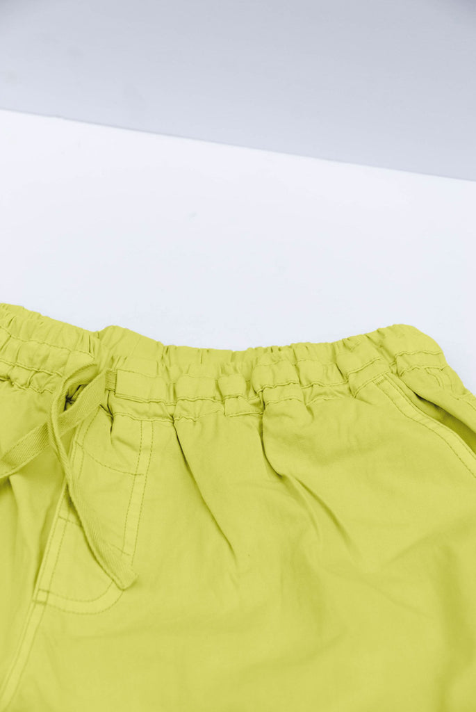 Danny Organic Cotton Unisex Trousers in Yellow