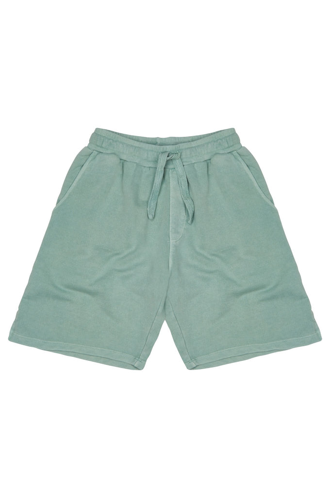 Flip Organic Cotton Sweat Shorts in Green