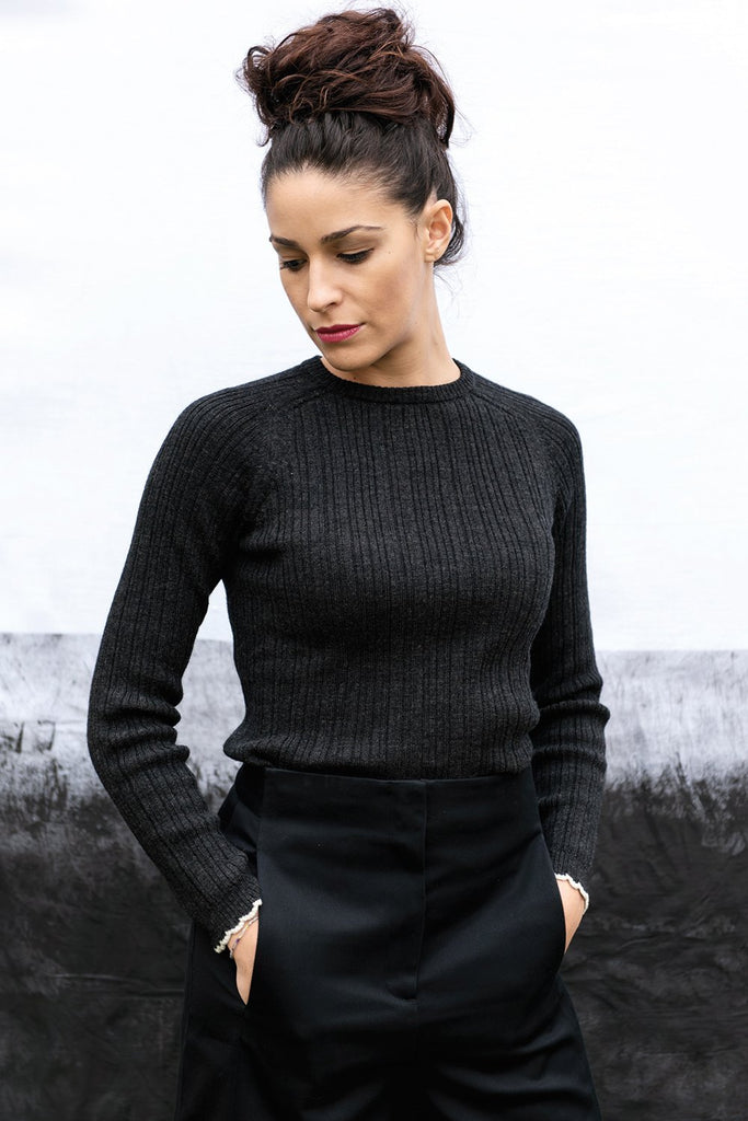 Freesia Ethical Merino Wool Sweater in Different Colors