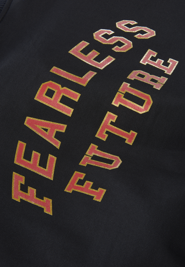 Fearless Future Organic Cotton Bomber Jackets in Black