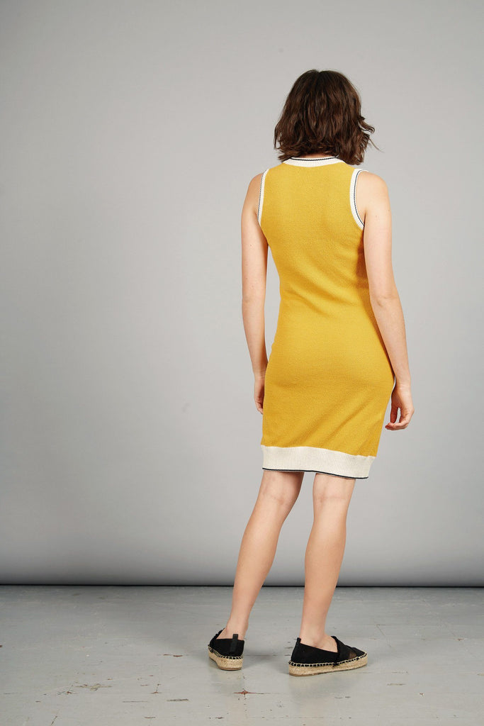 Grace Organic Cotton Dress in Amber