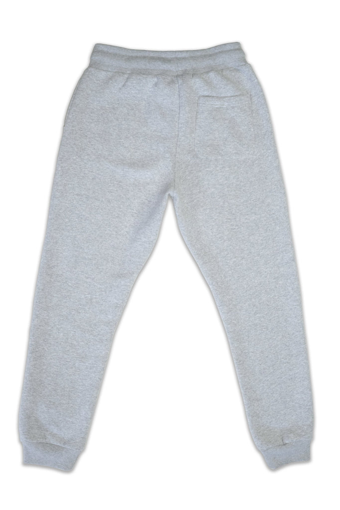 Nelson Recycled Cotton & Polyester Unisex Joggers in Gray