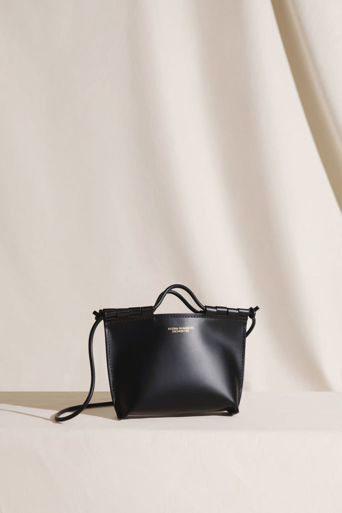 The Siesta Ethical Leather Handbag in Black