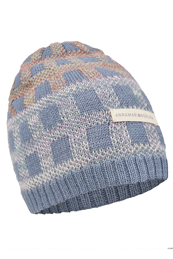 Napkini Handmade Alpaca Wool Beanie in Blue
