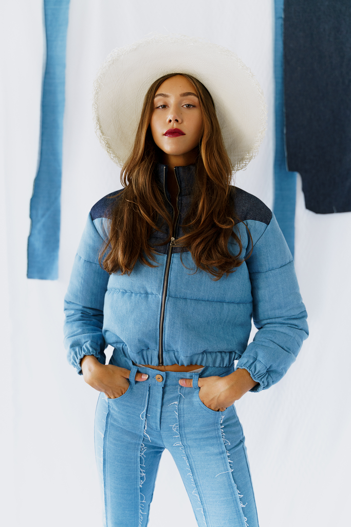 Hubbard Vegan Jacket in Blue