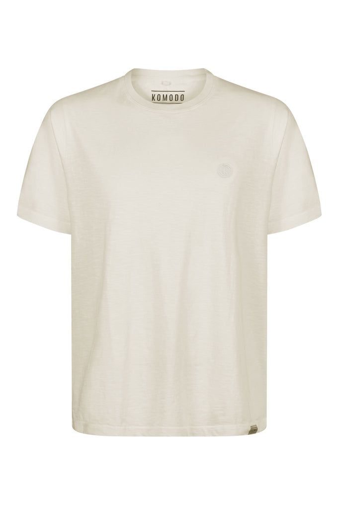 Kin Organic Cotton T-shirt in Off White