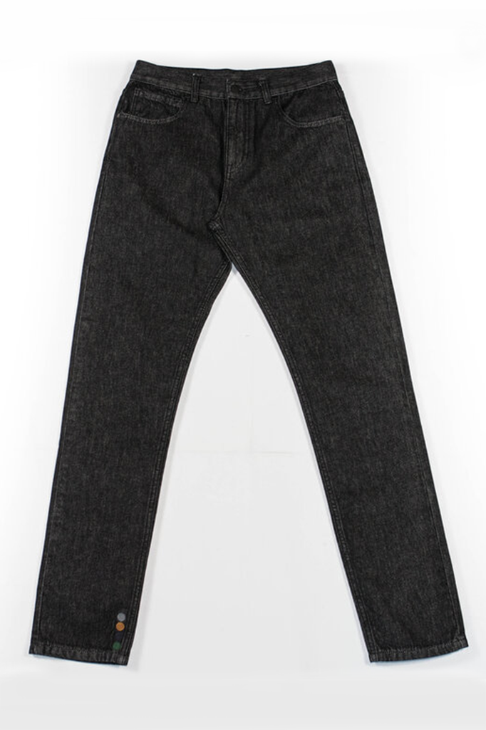 Mike Organic Cotton Jeans in Black