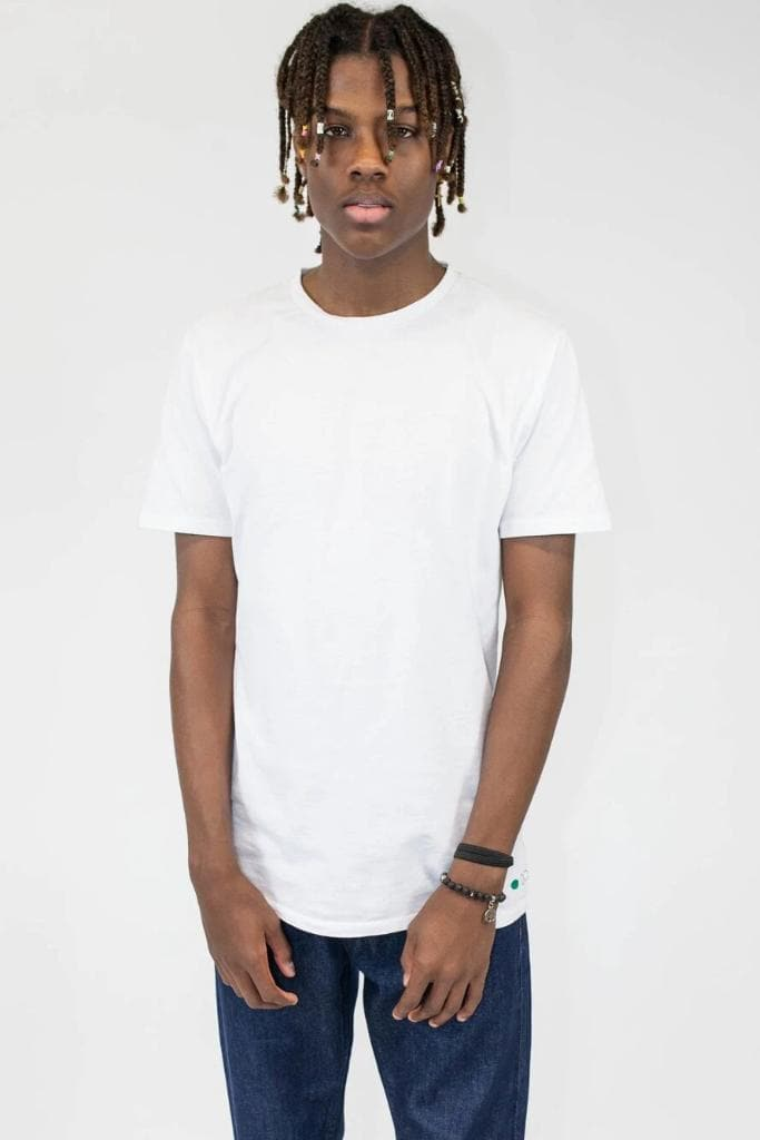 3-Pack Recycled Cotton Men's T-shirt in White
