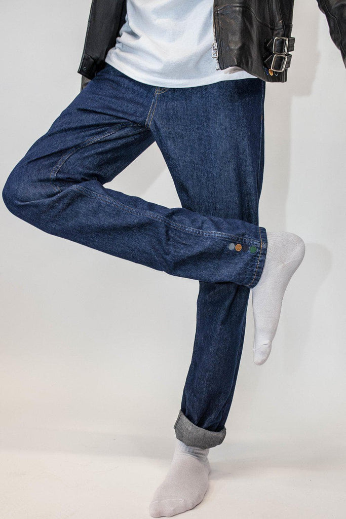 Mike Organic Cotton Jeans in Indigo