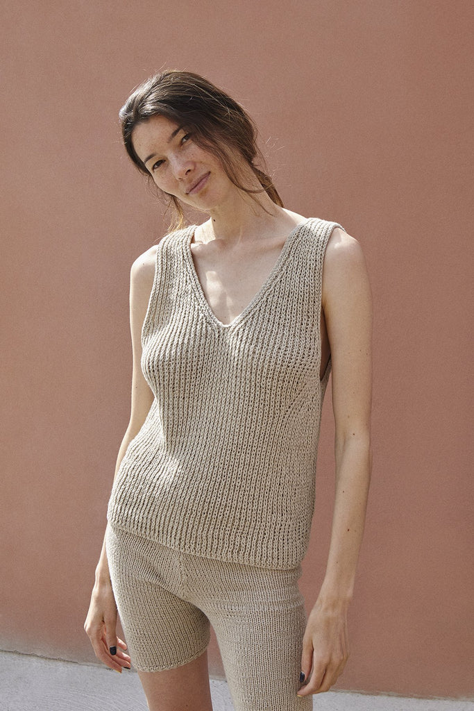 Saulė Handmade Linen & Cotton Summer Set in Different Colors