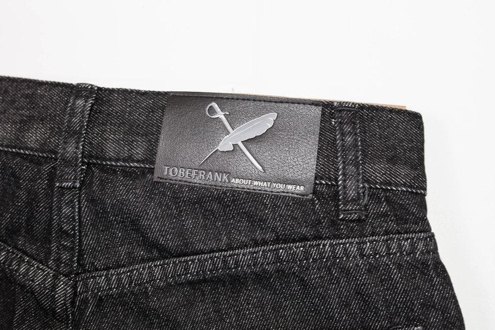 Hardy Organic Cotton Jeans in Black