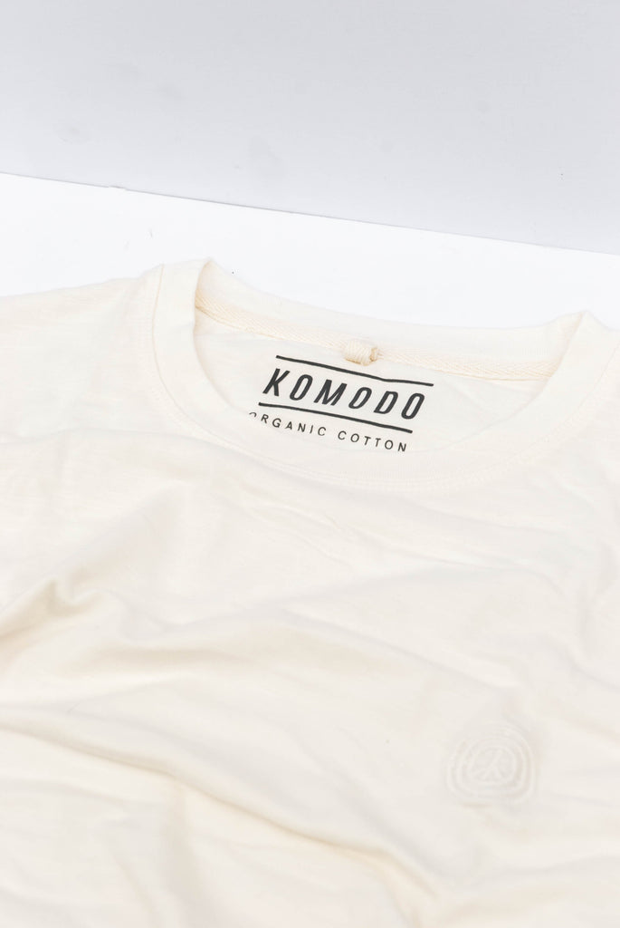 Inga Organic Cotton T-shirt in Off-White