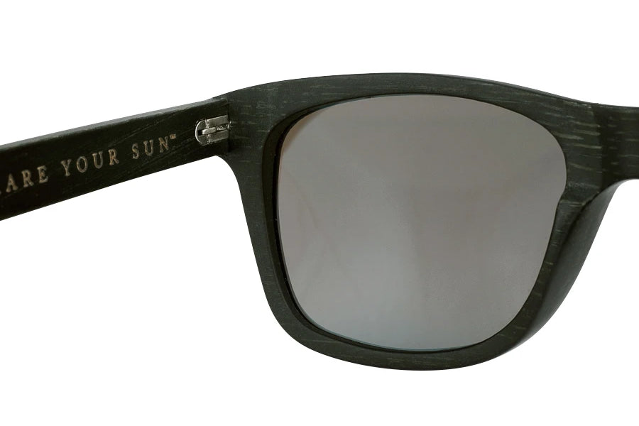 Jay Ethical & Eco-Friendly Bamboo Sunglasses in Black