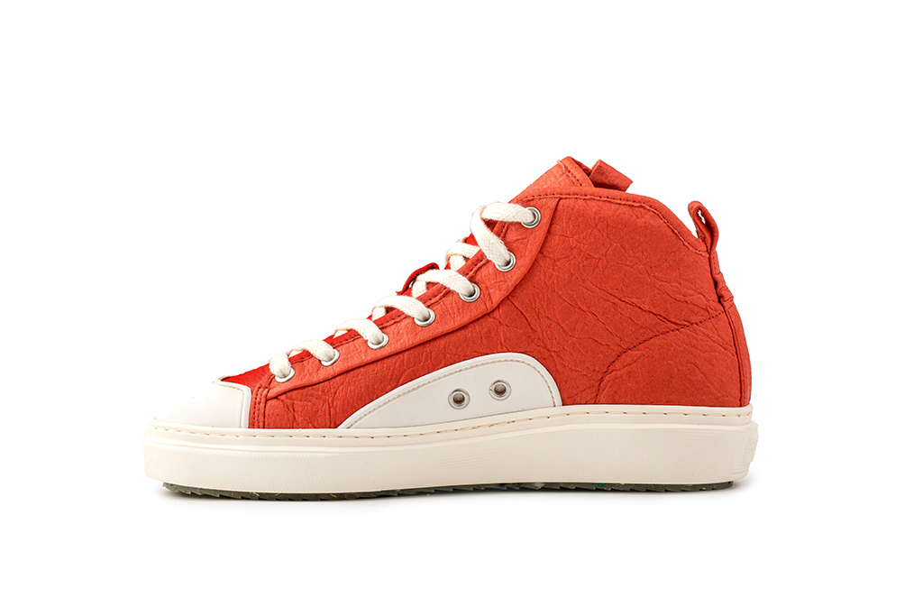 Wahoo Recycled Sneakers in Paprika