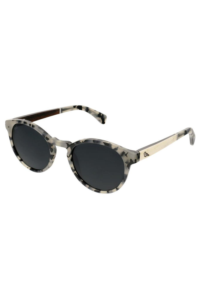 Kaka Ethical & Eco-Friendly Acetate Sunglasses in Snowy