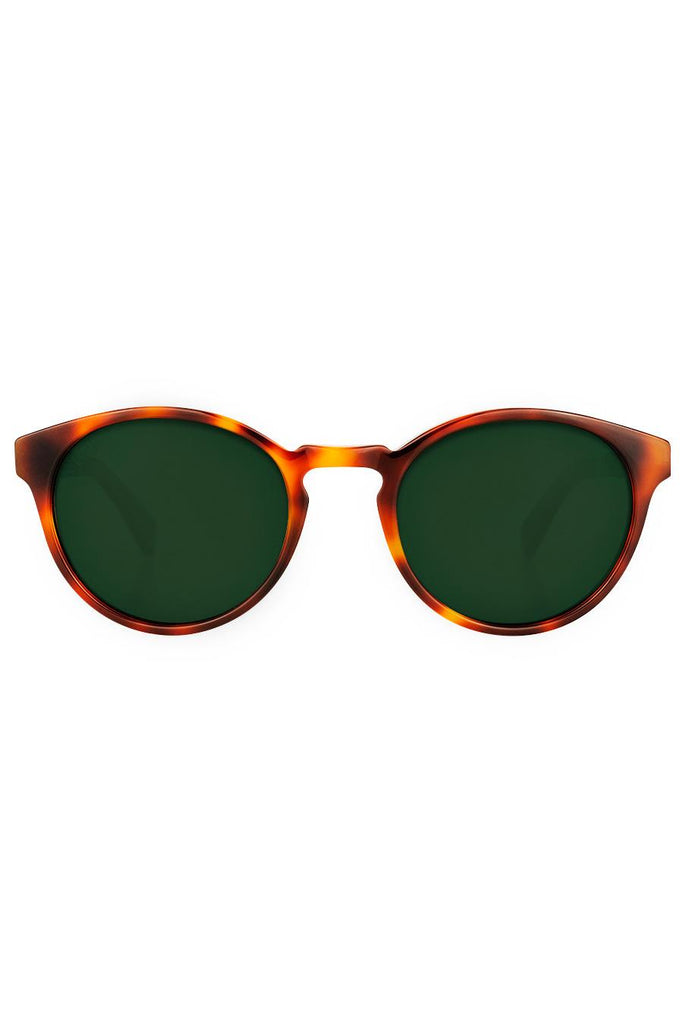 Kaka Ethical & Eco-Friendly Acetate Sunglasses in Caramel