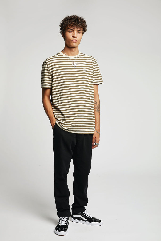 Kenny Organic Cotton & Hemp T-shirt in Olive