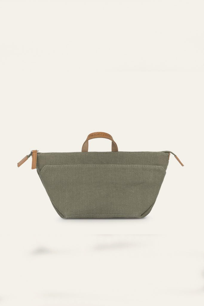 Kin Natural Hemp & Linen Wash Bag in Different Colors