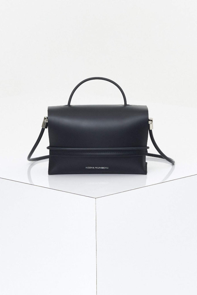 The Current Ethical Leather Handbag in Black