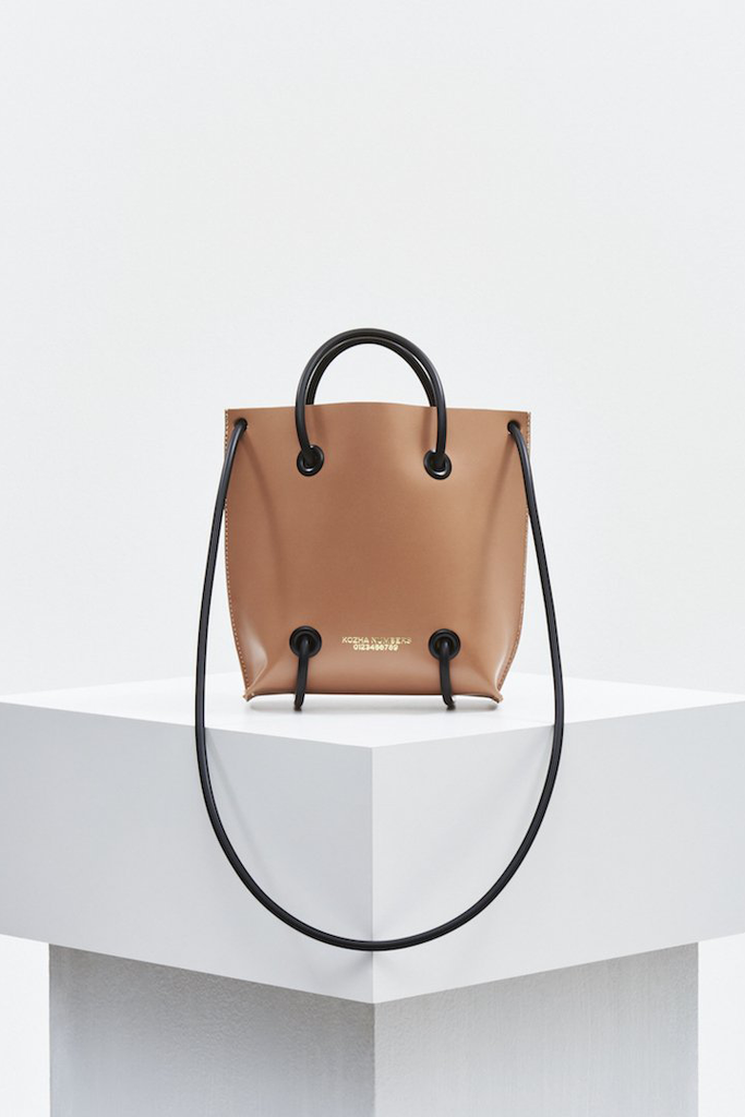 The Limited Utility Ethical Leather Handbag in Nude