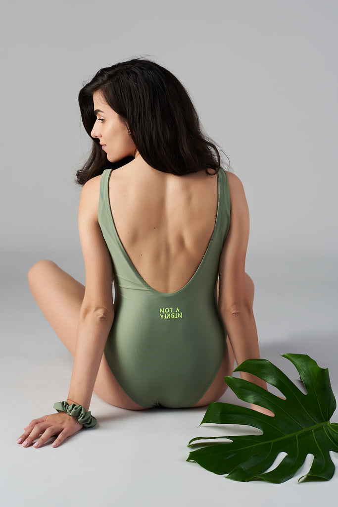 Not a Virgin Recycled Circular Swimsuit