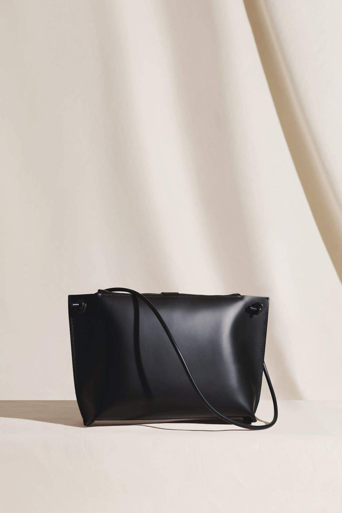 The Lafer Ethical Leather Bag in Black