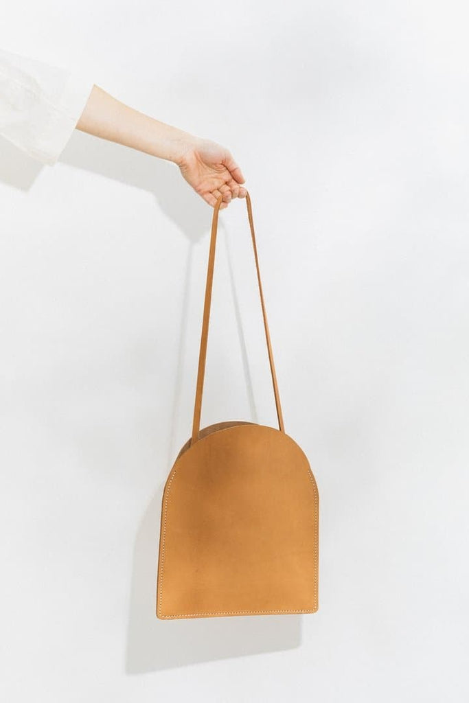 Arc Organic Leather Handmade Handbag in Different Colors